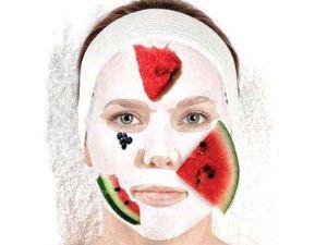 ماسک روشن کننده پوست صورت هندوانه