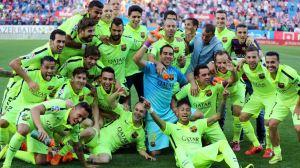 بارسلونا قهرمان فصل لا لیگا شد