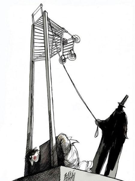 کاریکاتورهای هنری و مفهومی آنجل بولیگان