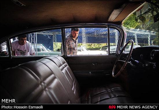 نمایشگاه خودروهای کلاسیک در تهران ( تصویری)
