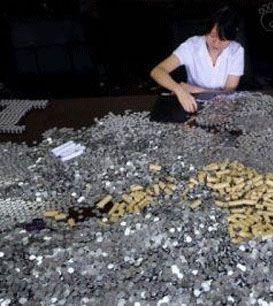 حرکت جالب مرد چینی برای پرداخت جریمه (عکس)