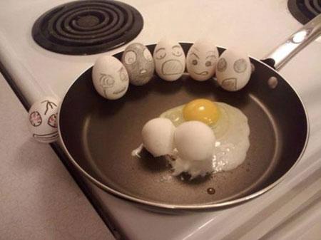 عکس های دیدنی از تخم مرغ های نقاشی شده
