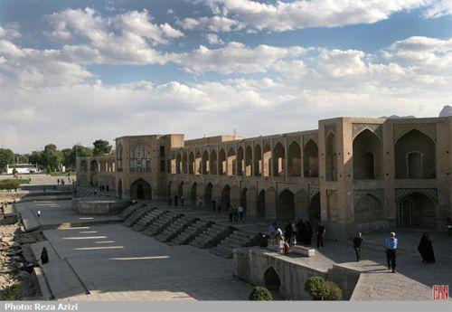 معرفی پل خواجوی اصفهان (عکس)