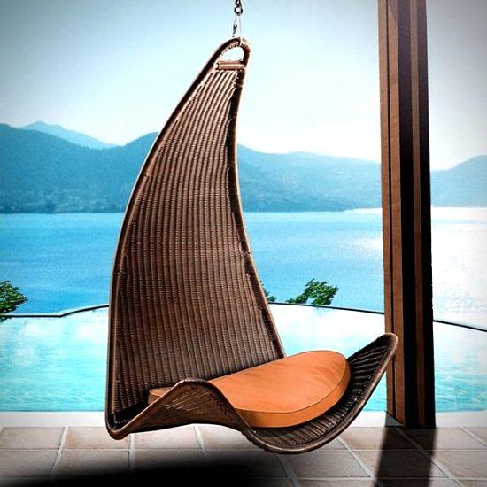 مدل های جدید صندلی های معلق برای فضای باز