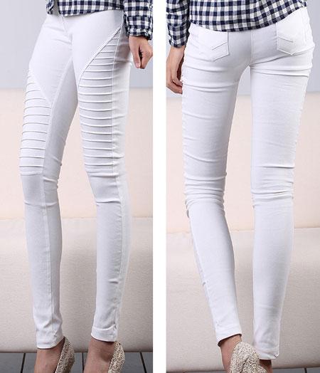 اصول نگهداری از شلوارهای جین سفید