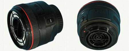 طراحی جاروبرقی مخصوص لنز دوربین (+عکس)