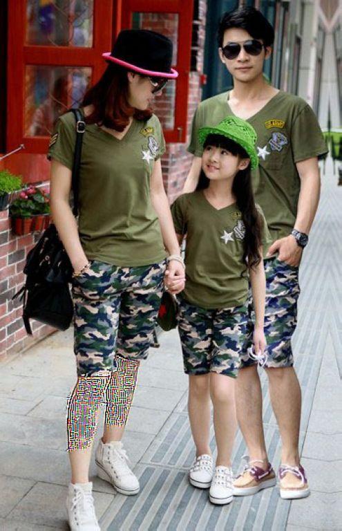 جدیدترین مدل های ست لباس خانوادگی