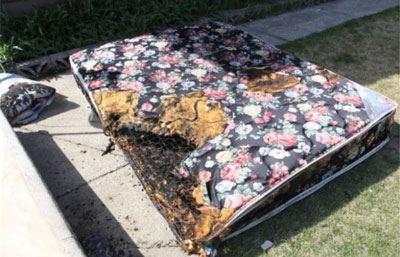آتش گرفتن پسری پس از انفجار آیفون + تصاویر