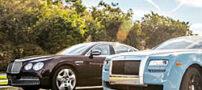 انتخاب بهترین خودروهای رولزرویس و بنتلی + تصاویر