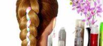 آموزش بافت مو با ربان بصورت تصویری