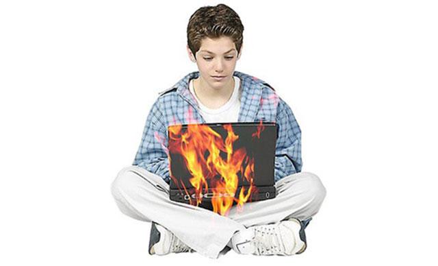علت داغ کردن لپ تاپ چیست؟