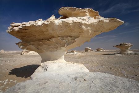 عکس های بی نظیر از صحرای سفید در مصر