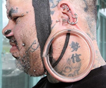 رکورد گوش دراز ترین انسان (+عکس)