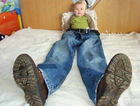 عکس های طنز و خنده دار کودکان (4)