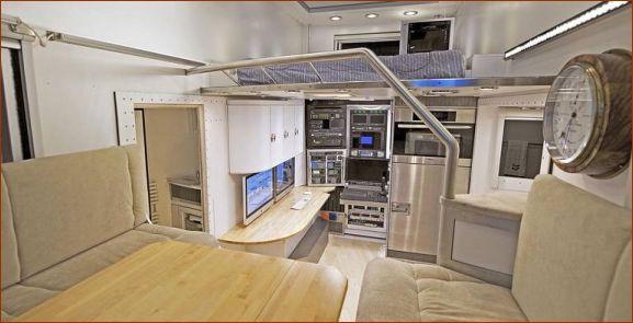 خودروی جالبی که یک خانه مجهز است (+عکس)