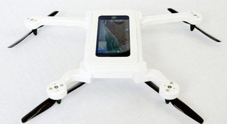 تلفن همراه شما پرواز خواهد کرد + تصاویر