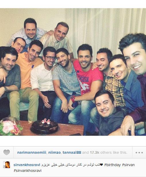 عکس هایی از بازیگران ایرانی در شبکه های اجتماعی