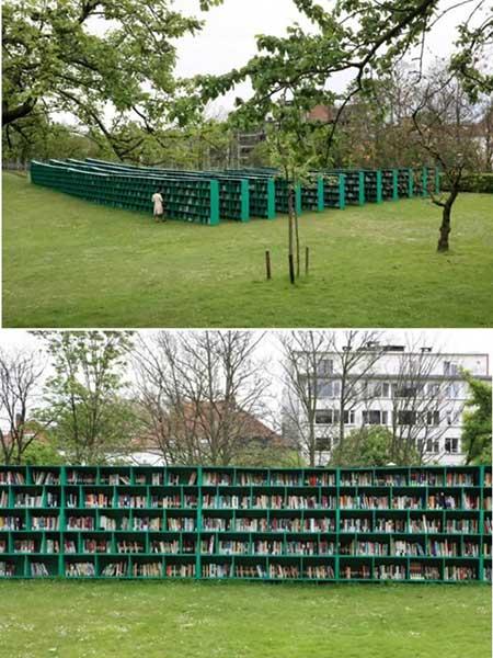 جالب ترین کتابخانههای سیار دنیا (+عکس)