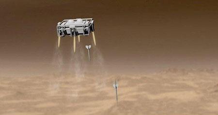 طرح موشک باران مریخ در جستجوی حیات + تصاویر
