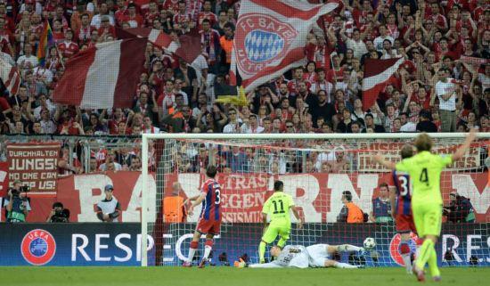 بارسلونا به فینال لیگ قهرمانان راه یافت