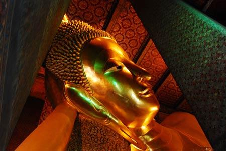 تصاویر جالب از معبد بودای خفته در تایلند