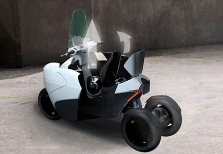 مینی خودروی پژو مخصوص شهرهای شلوغ (عکس)