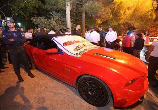 توقیف خودروی میلیاردی در اصفهان + عکس