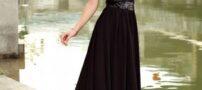 مدل لباس زنانه مجلسی مشکی 2015