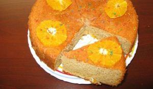 طرز درست کردن کیک بهارنارنج و پرتقال