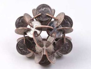 مجسمه های سکه ای زیبا (عکس)