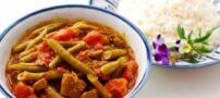 طرز درست کردن خورشت لوبیا سبز