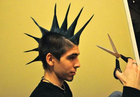 عکس های خنده دار از مدل موهای عجیب