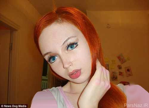 دختری که قیافه اش شبیه عروسک است (+عکس)