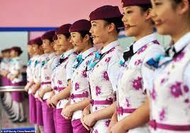 آموزش عجیب لبخند زدن در کشور چین (عکس)