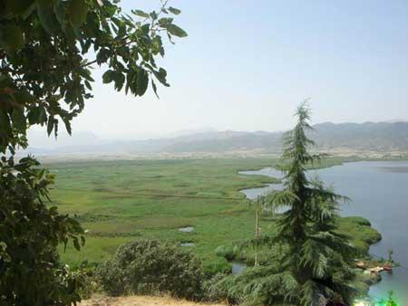 معرفی تالاب آب شیرین زریوار + تصاویر