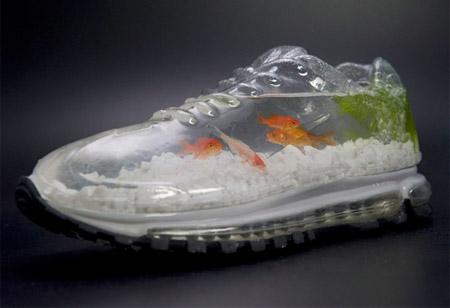 کفش های آکواریومی و مدرن نایک