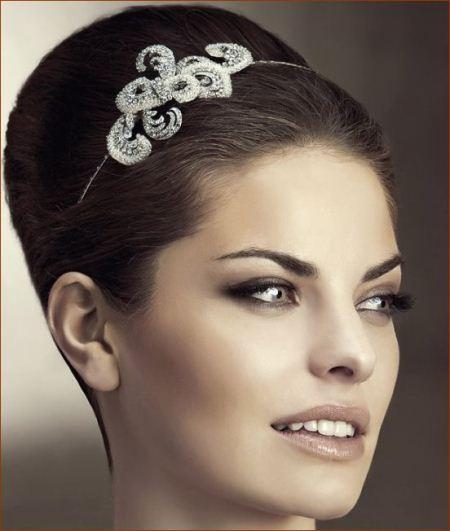 مدل های شیک و بسیار جذاب تاج نقره عروس