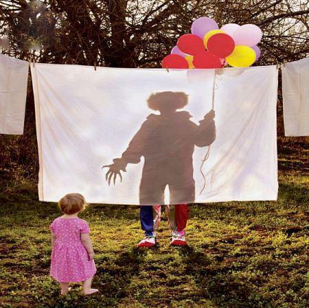 عکس های جالب از ترس های دوران کودکی