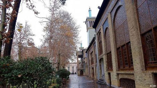 تصاویری جدید از بناها و محوطه کاخ زیبای گلستان