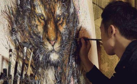 نقاشی های شگفت انگیز آشفته و شلوغ