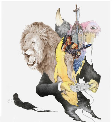 عکس هایی از جالب ترین نقاشی های هنری