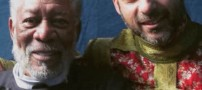 پیمان معادی در کنار بازیگر هالیوود (عکس)