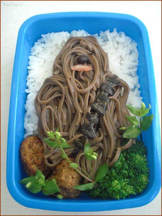 هنرنمایی جالب با مواد غذایی (تصویری)