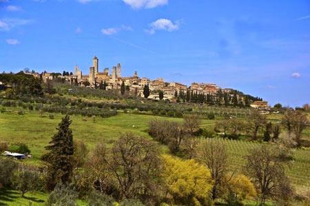 آپارتمان های قرون وسطی در ایتالیا + تصاویر