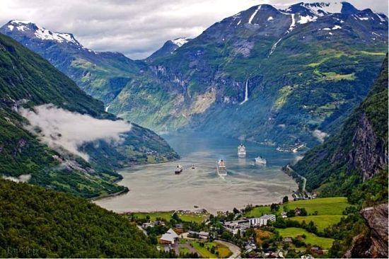 عکسهایی جدید از مکان های زیبا و دیدنی نروژ