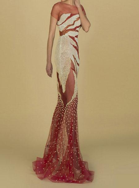 مدل های شیک و زیبای لباس شب زنانه 99