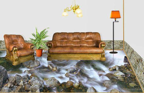 با این کفپوش های 3 بعدی طبیعت را به خانه خود بیاورید!