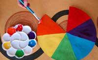 آموزش کاردستی چتر رنگی برای کودکان