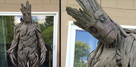 ساخت لباسی از جنس ریشه درخت (عکس)