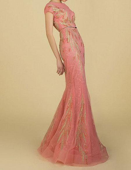 مدل های شیک و زیبای لباس شب زنانه 94